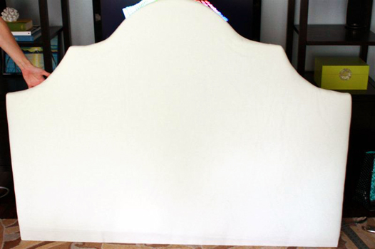 How to build an upholstered headboard/DIY upholstered bed tutorial
