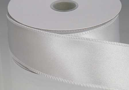 white satin ribbon