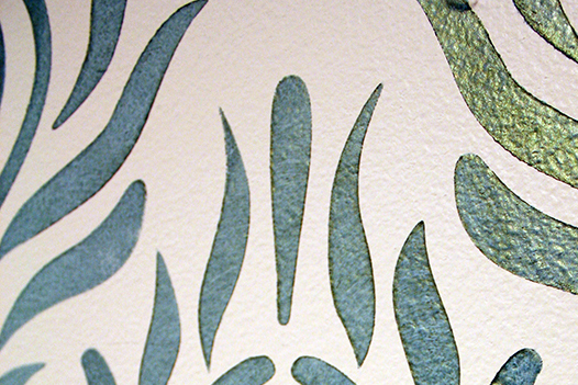 royal design studio peacock green stencil creme