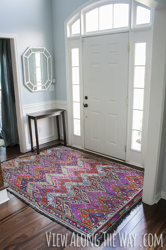 Front Foyer Rugs : How to clean an antique turkish kilim rug