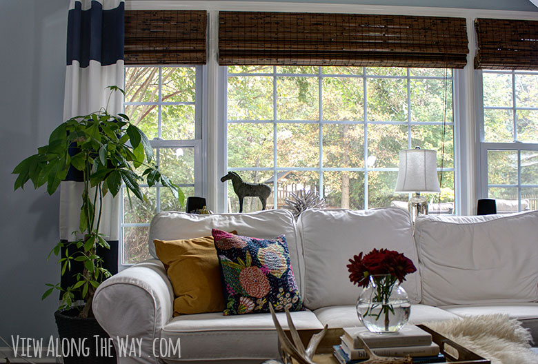 How to decorate for fall: adding cozy textures