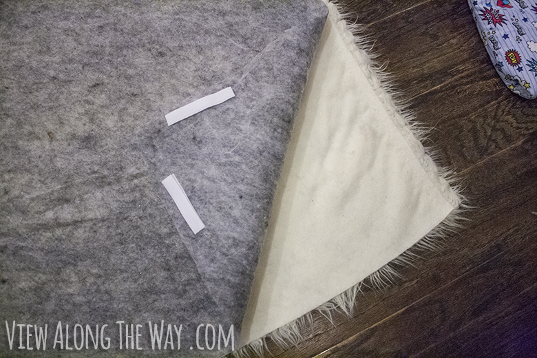 DIY shag rug tutorial!