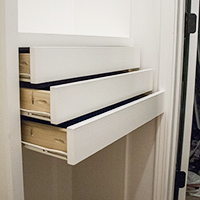 How to build drawers
