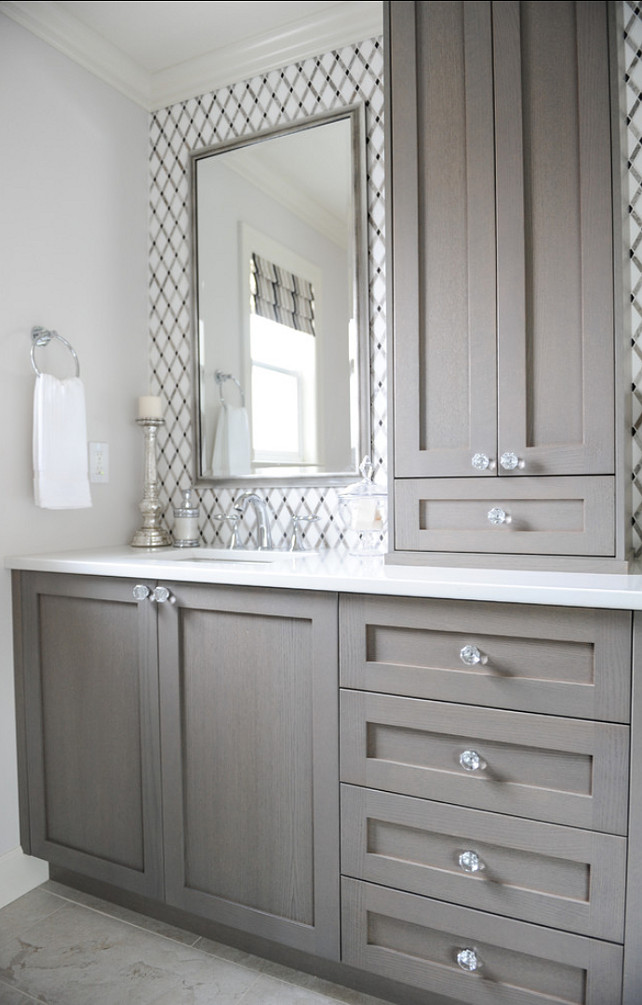 The snowballing mirror dilemma view along the way Bathroom mirror cabinet design
