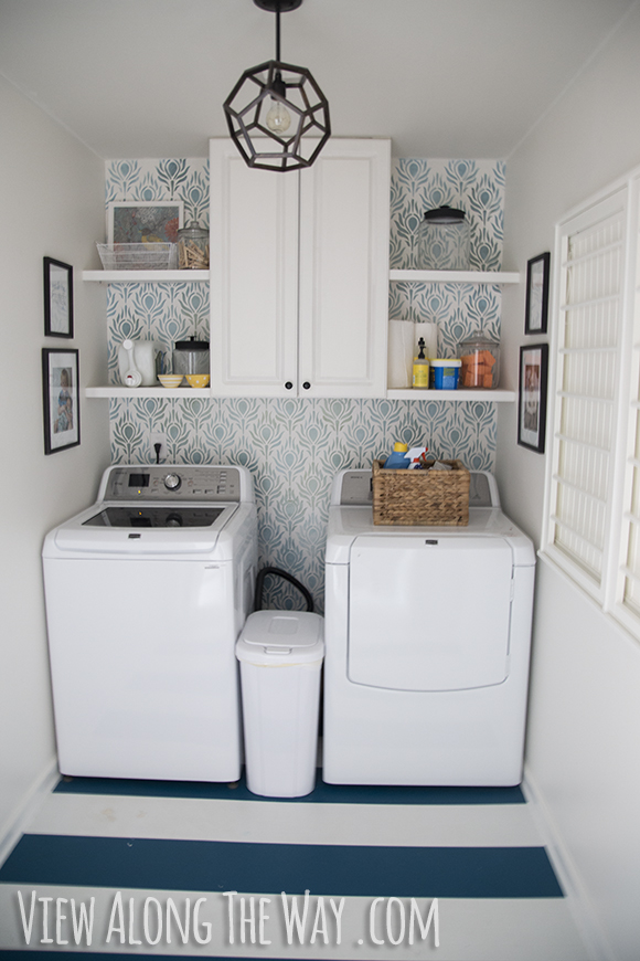 Updated laundry room!
