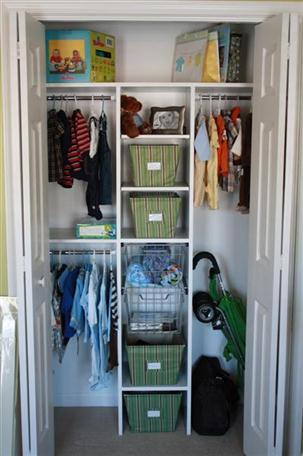 Superbe Baby Nursery Closet Organization System