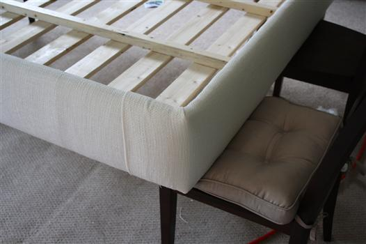 Cool How to upholster a platform bed