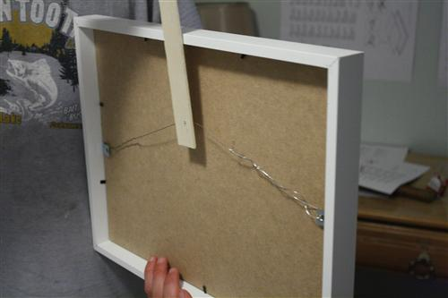 Verrassend How to Hang Ikea Ribba Frames in a Straight and Level Grid ES-89