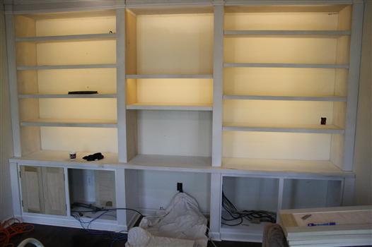 book shelf lighting. book shelf lighting o