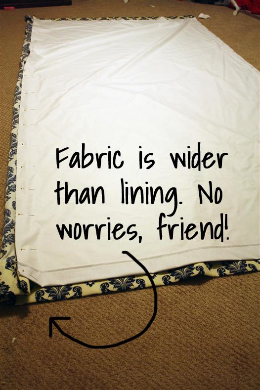 Now sew ...