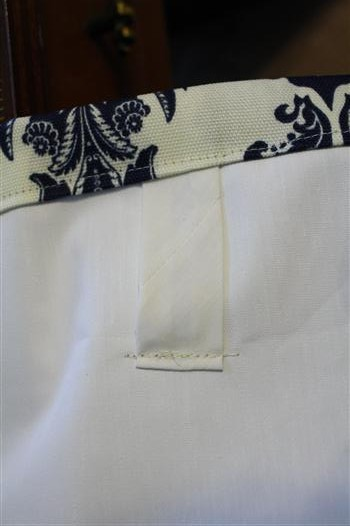 back tabbed curtain panel drapes