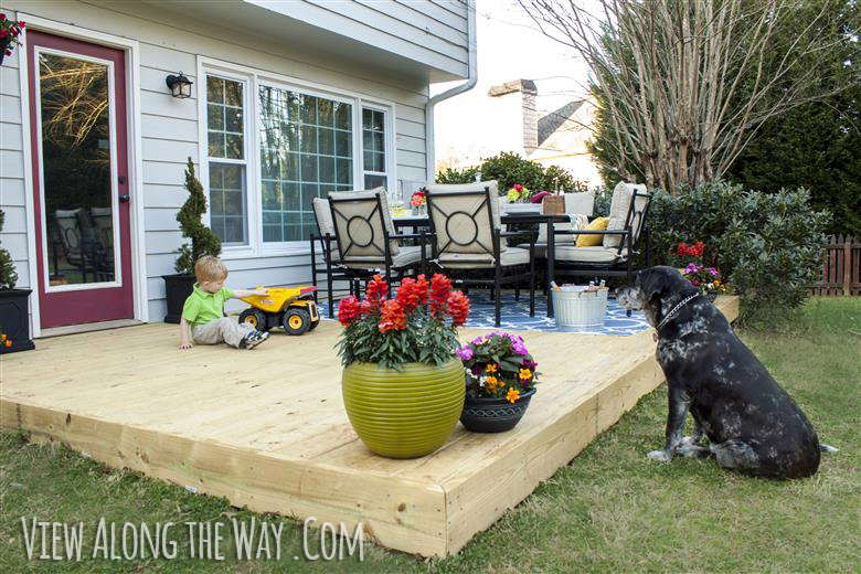 11 Budget Friendly Patio Makeovers | The Inspired Hive on Patio Decor Ideas Cheap id=56632