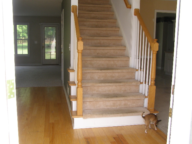 Perfect How To Refinish Your Stair Railings And Sing Like Adele!