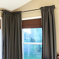 How to make your own curtains 27 brilliant diy ideas and tutorials how to make your curtains gather perfectly plus other easy diy curtain ideas solutioingenieria Choice Image