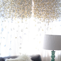 Knock Off Anthropologie Flutter Curtains    And Other Brilliant DIY Curtain  Ideas