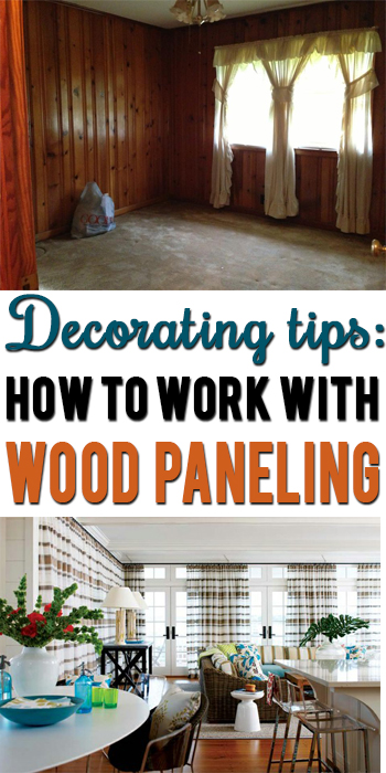 Wood Paneled Den: How To Decorate Around Dark Wood Paneling?