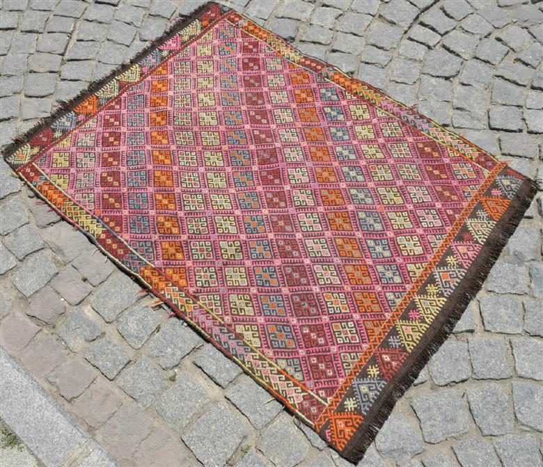 How To Clean An Antique Turkish Kilim Rug