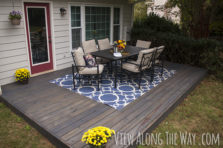 How to stain a wood deck for What is the best wood for decking