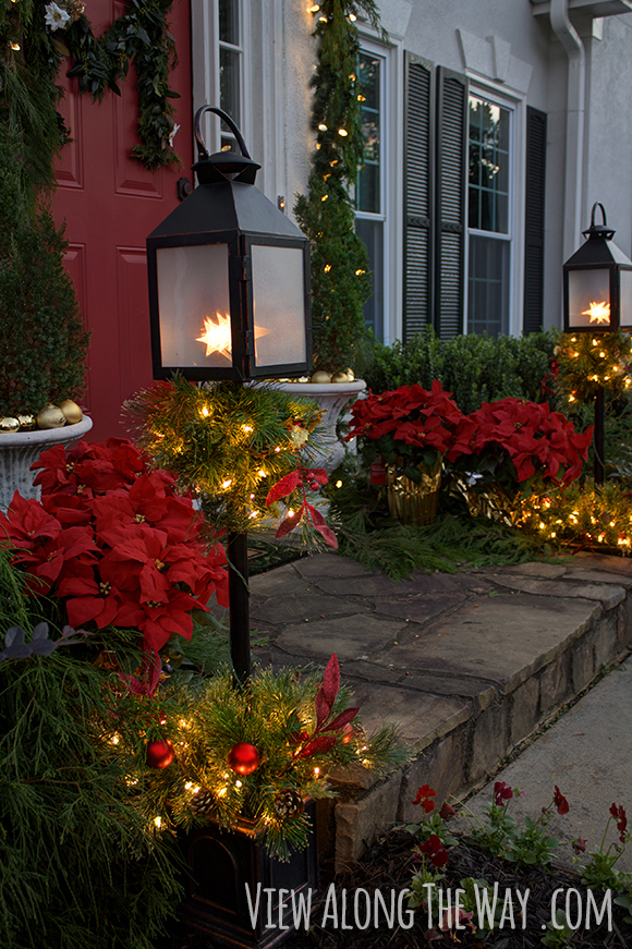 ideas to decorate your front door for christmas