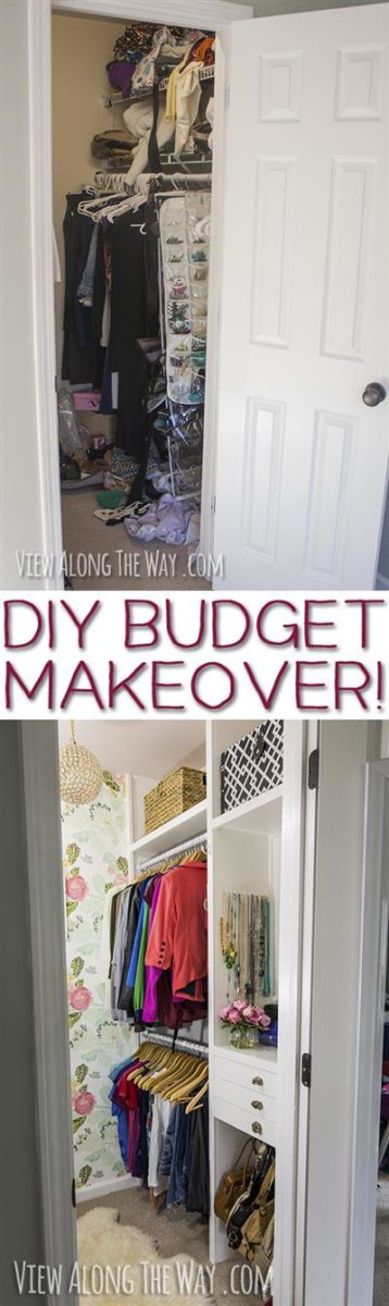 Make Your Dream Closet On A Tiny Budget Check Out These Ideas To Transform