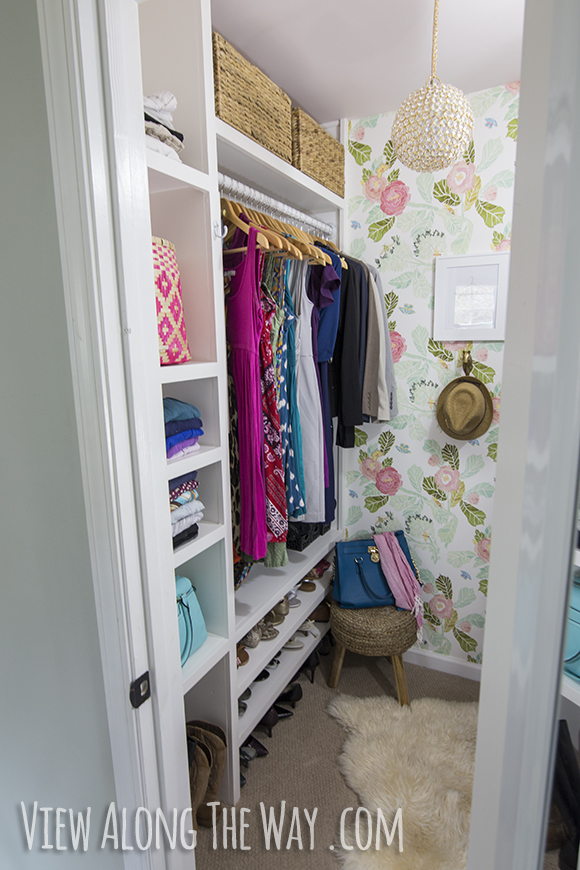 Build these custom closet shelves come see how to do this whole closet on a