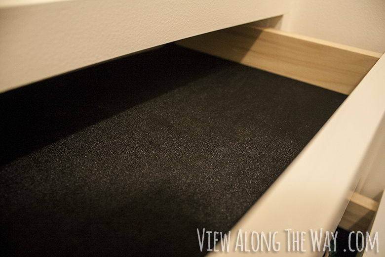 Diy Velvet Drawer Liners Tutorial How To Make Velvet Drawer Lining