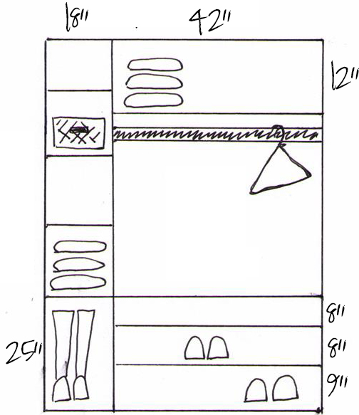 How To Build Custom Closet Shelves