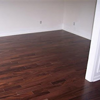 How to install glue-down hardwood flooring