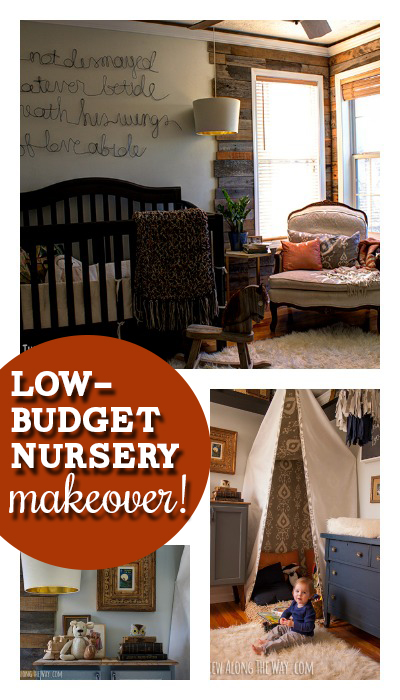 Budget-friendly nursery ideas! Love this sophisticated nursery!