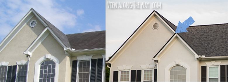 Adding A New Roof With Architectural Shingles Before And