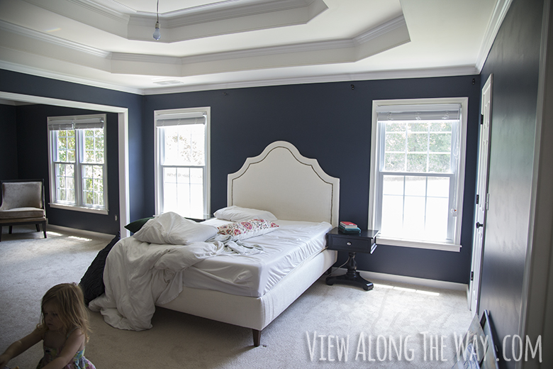 Master Bedroom Paint Reveal View Along The Way